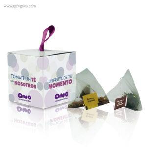 Caja de té personalizada - RG regalos publicitarios