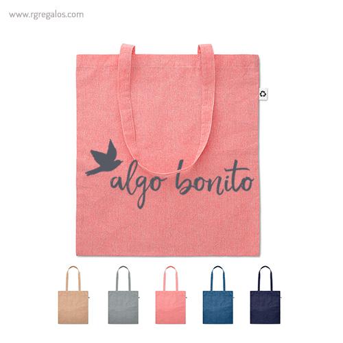 Bolsa de algodón reciclado - RG regalos publicitarios