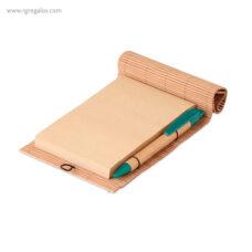 Cuaderno de bambú - RG regalos publicitarios