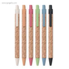 Bolígrafo de corcho - RG regalos publicitarios