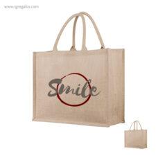 Bolsa de yute interior plastificado - RG regalos publicitarios