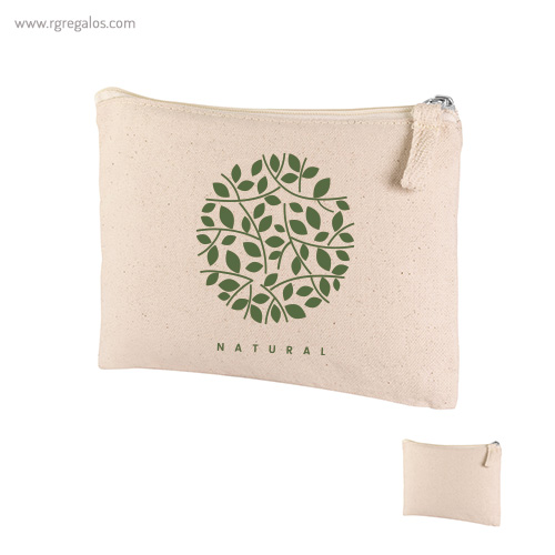 Neceser algodón orgánico - RG regalos publicitarios