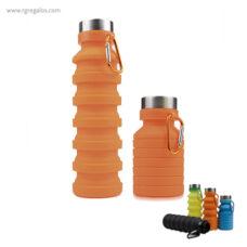 Botella plegable de silicona 500 ml - RG regalos publicitarios