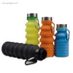 Botella plegable de silicona 500 ml colores - RG regalos publicitarios