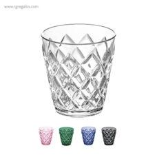 Vaso reutilizable efecto cristal - RG regalos