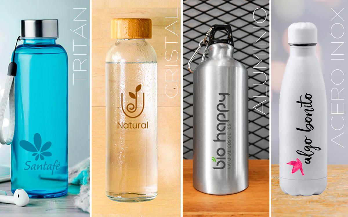 Botellas 100% reutilizables - RG regalos publicitarios