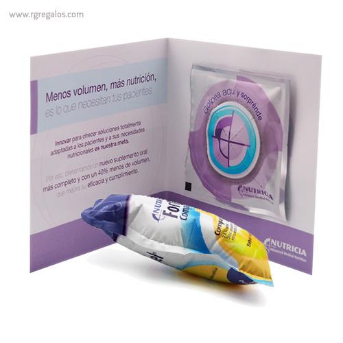 Publiairbag con díptico personalizado - RG regalos publicitarios
