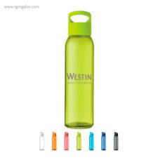 Botella de cristal y tapa de PP - RG regalos