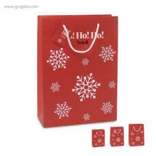Bolsa estampado navidad - RG regalos publicitarios