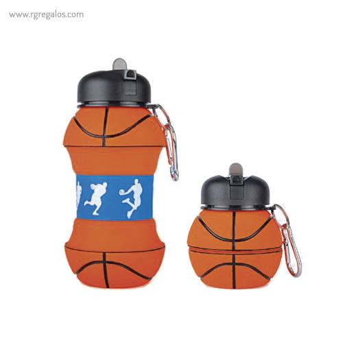 Botella plegable pelota de baloncesto - RG regalos publicitarios