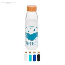 Botella con funda de silicona 540 ml - RG regalos publicitarios