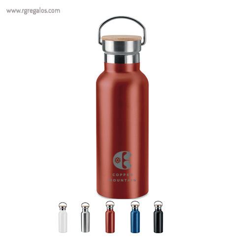 Botella acero inox doble pared - RG regalos publicitarios