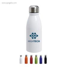 Botella aluminio colores 500 m detalle - RG regalos publicitarios