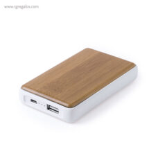 Power Bank de bambú 4000 mAh - RG regalos publicitarios