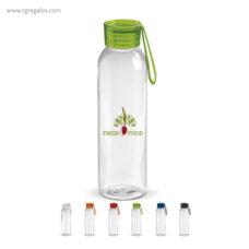 Botella de tritán con tapa de color 600 ml - RG regalos publicitarios