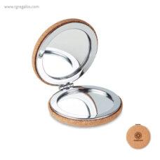 Espejo redondo de corcho - RG regalos publicitàrios
