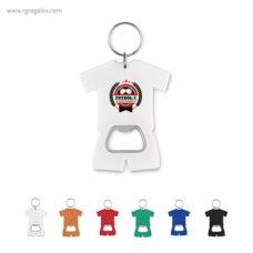 Llavero abridor camiseta - RG regalos publicitarios