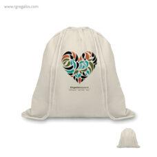 Mochila saco algodón orgánico - RG regalos promocionales