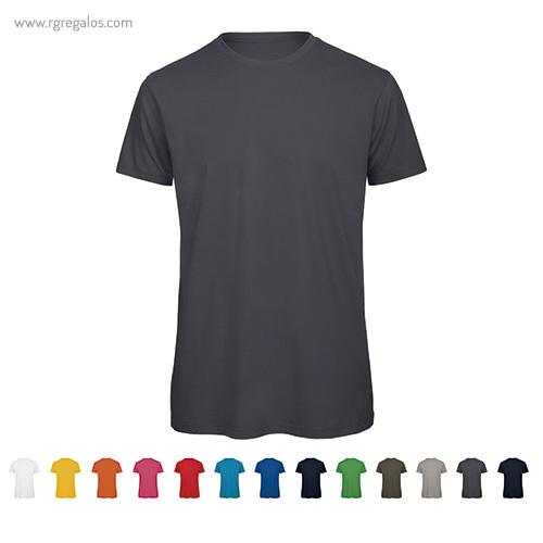Camiseta algodón orgánico - RG regalos publicitarios