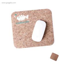 Alfombrilla corcho para ratón - RG regalos personalizados