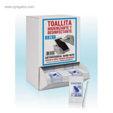 Dispensador de 125 toallitas móvil - RG regalos publicitarios