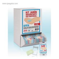 Dispensador toallas + jabón higienizante - RG regalos publicitarios