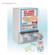 Dispensador de 125 jabón uso individual -RG regalos publicitarios
