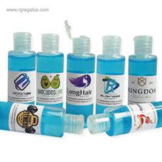 Gel hidroalcohólico 60 ml personalizado - RG regalos