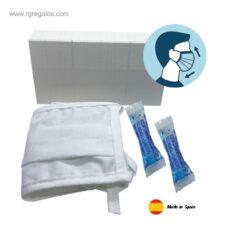 Mascarilla de protección + gel unidosis - RG regalos publicitarios