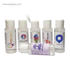Gel hidroalcohólico 30 ml personalizado - RG regalos