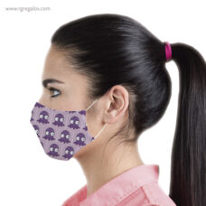Mascarilla personalizada reutilizable con varilla nasal - RG regalos