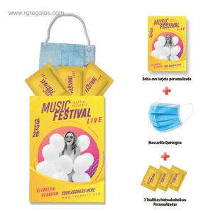 Set higienizante personalizado evento - RG regalos