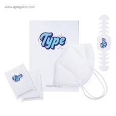 Set higienizante standard KN95 - RG regalos