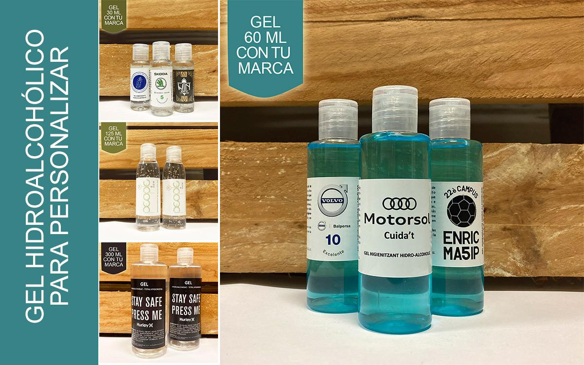 Gel hidroalcohólico personalizado - RG regalos