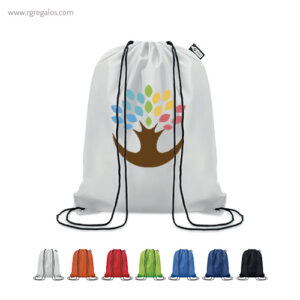 Mochila saco de RPET 190T - RG regalos de empresa