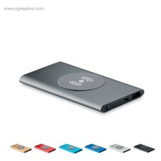 Power Bank 4000 mAh plano aluminio - RG regalos de empresa