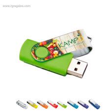 Memoria USB clip personalizado - RG regalos