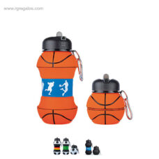 Botella plegable pelota deportes - RG regalos promocionales
