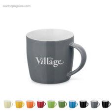 Taza cerámica colores brillantes 370 ml - RG regalos de empresa